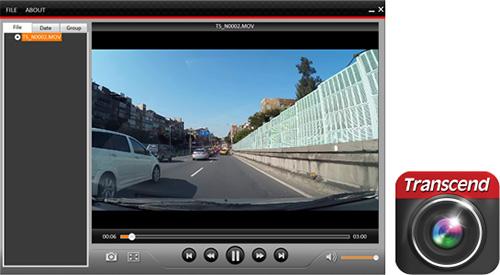 กล้องติดรถยนต์ Transcend มี DrivePro Tools Box