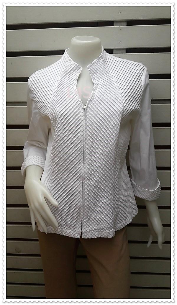 BN4778--เสื้อแฟชั่น นำเข้า สีขาว DRESSBARN อก 39-40 นิ้ว