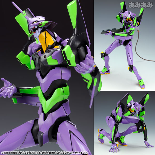 Evangelion: 2.0 You Can - 1/400 General-Purpose Humanoid Battle Weapon EVANGELION Test Type 01 Plastic Model(Pre-order)