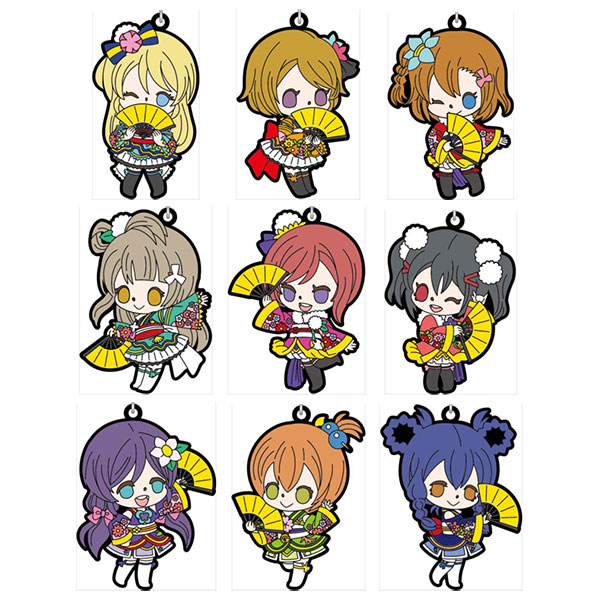 Love Live! The School Idol Movie - Rubber Strap Angelic Angel ver. 9Pack BOX(Pre-order)