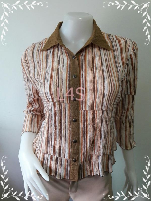 jp4593-เสื้อแฟชั่น สวยๆ อก 38-40 นิ้ว