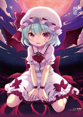 "Touhou Nami no Amamiya - Wall Scroll ""Remilia Scarlet"" -illust.Haruki Minamura-(Pre-order)"