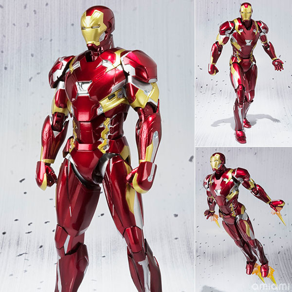 """S.H. Figuarts - Iron Man Mark 46 """"Captain America: Civil War""""(Pre-order)"""