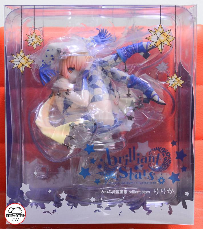 "Misato Mitsumi Artwork Collection brilliant stars ""Ririka"" (In-Stock)"