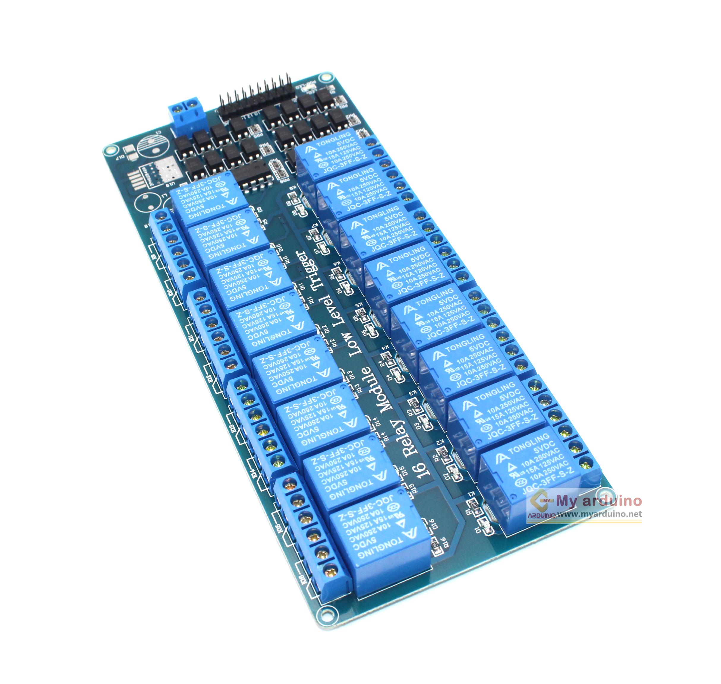 Relay Module 5V 16 Channel control Relay Module Shield