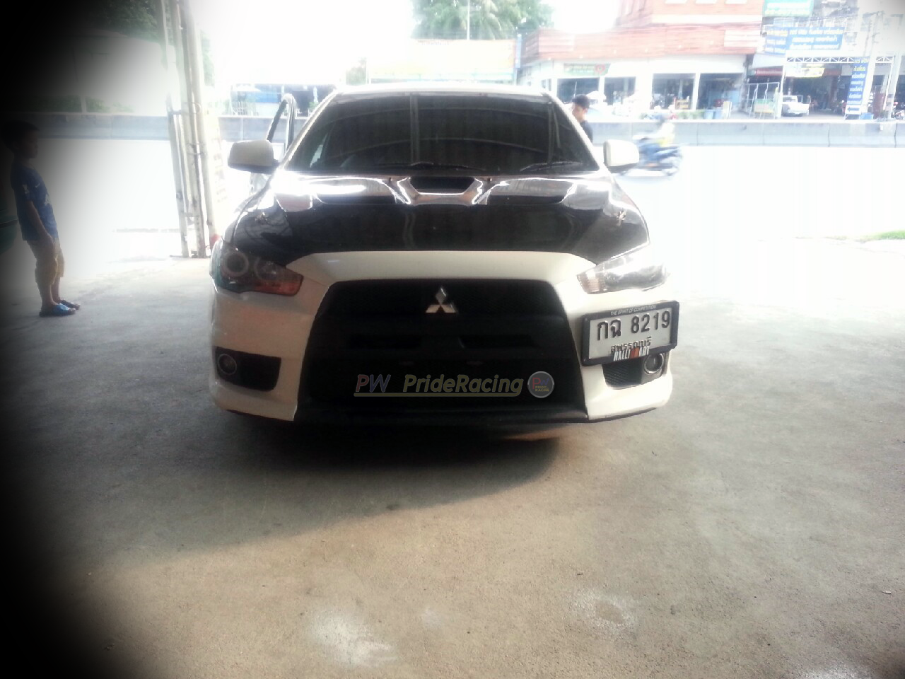 ท่อคู่Lancer Ex Custom-made by PW PrideRacing