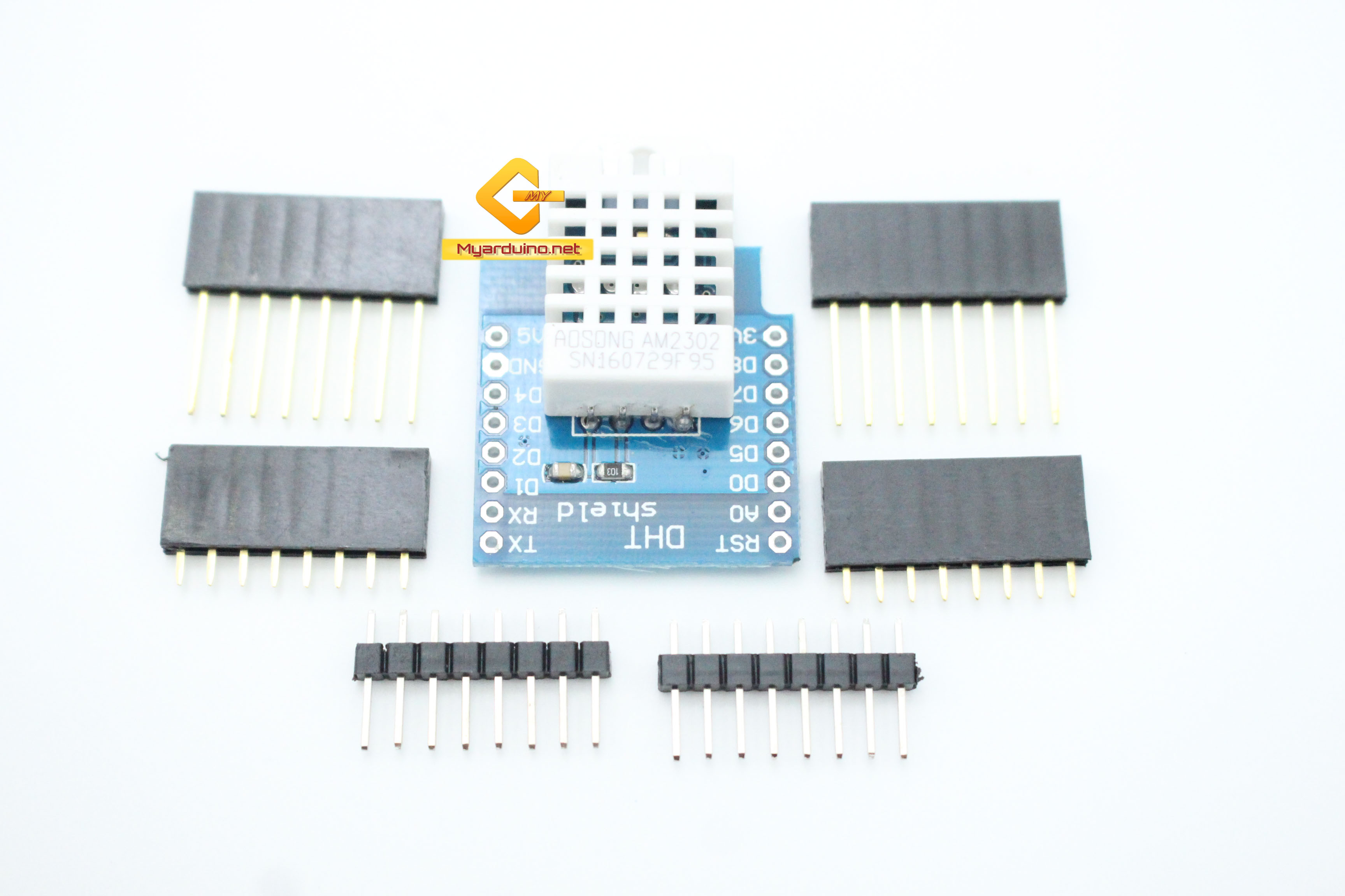 Wemos DHT22 Shield for WeMos D1 Mini