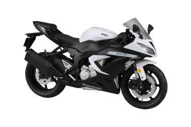 1/12 Complete Motorcycle Model Kawasaki Ninja ZX-6R 2014 (White)(Released)