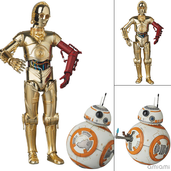 "MAFEX No.029 C-3PO & BB-8 ""Star Wars: The Force Awakens""(Pre-order)"
