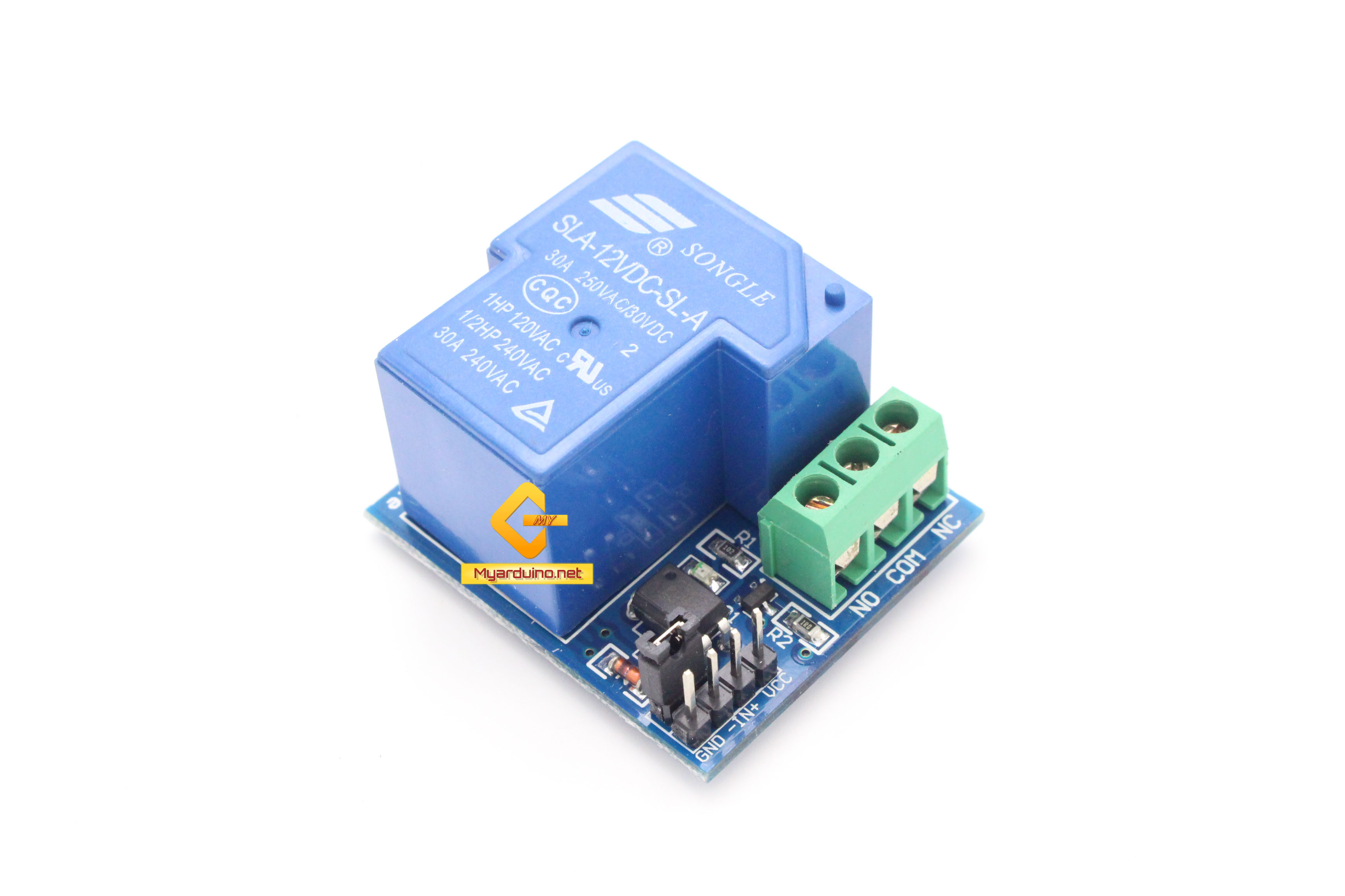 Relay Module 12V 30A 1 Channel isolation control Relay Module Shield
