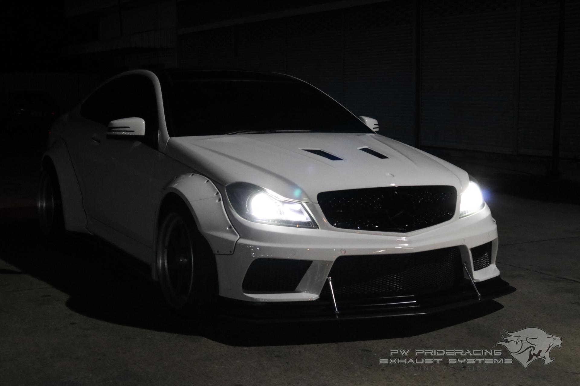 ชุดท่อไอเสีย Benz C-Coupe W204 by PW PrideRacing