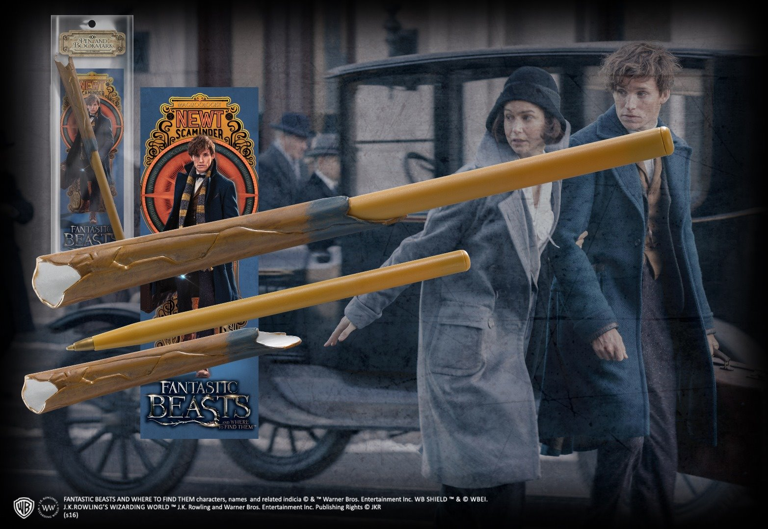 Newt Scamander's Wand Pen and Bookmark