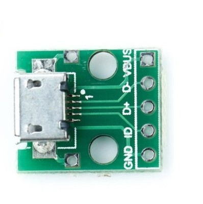 Micro USB B 5P Breakout Board