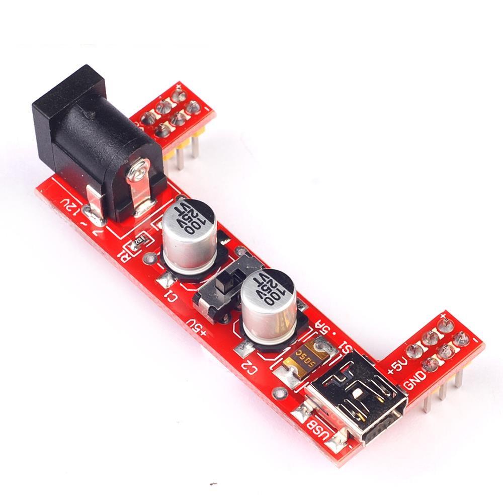 โมดูลแปลงไฟ 5V 3.3V Breadboard Power Supply Module 2-way 5V/3.3V