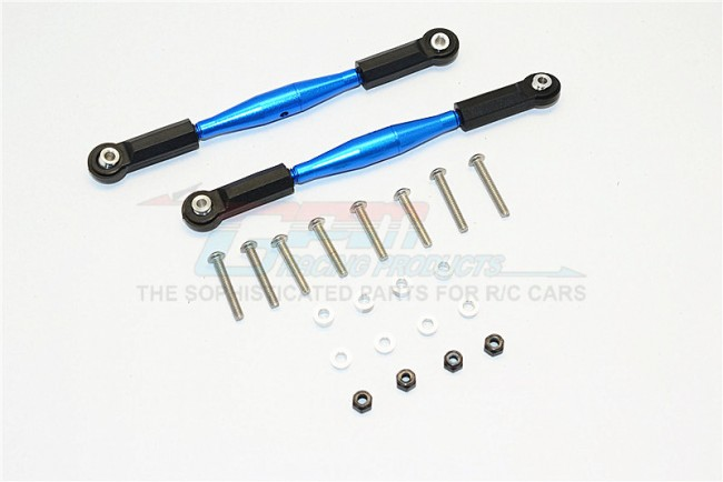 ALUMINIUM FRONT STERRING/REAR SUPPORTING TIE ROD - 2PCS SET
