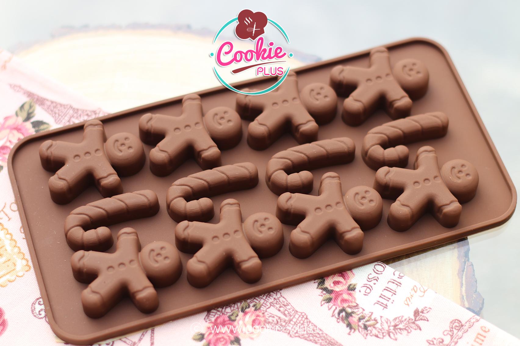 พิมพ์วุ้น พิมพ์สบู่ พิมพ์ซิลิโคน ช็อกโกแลต ลายแคนดี้ candy x'mas คริสมาสต์