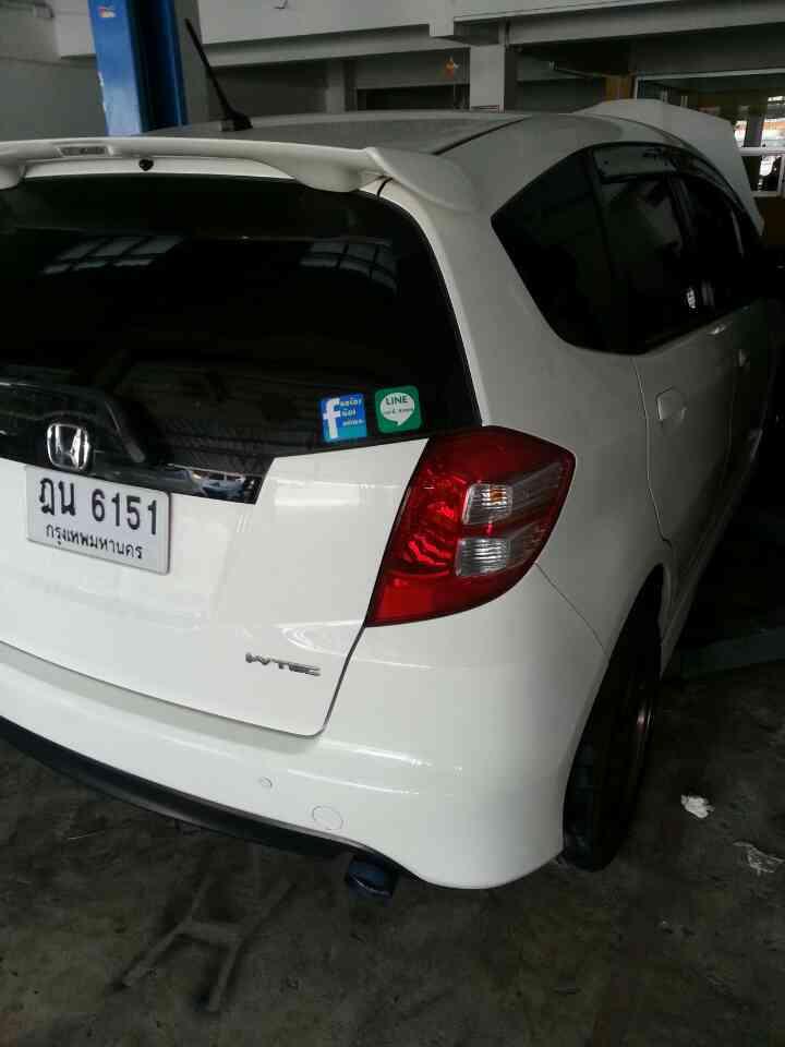 Honda Jazz GE ชุดท่อ Js Half Titanium สูตรเสียงนุ่ม