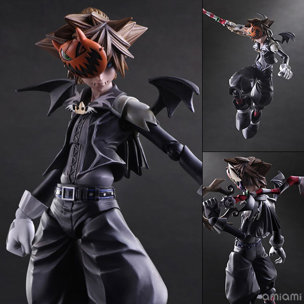 Play Arts Kai - Kingdom Hearts 2: Sora Halloween Town Version(Pre-order)