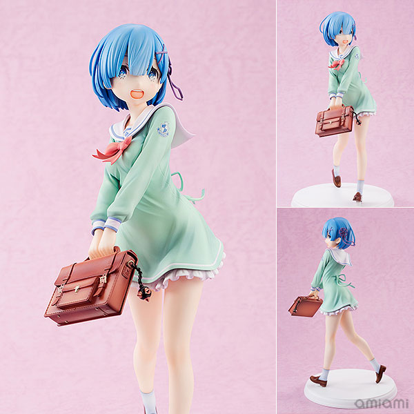 Re:ZERO -Starting Life in Another World- Rem High School Uniform Ver. 1/7 Complete Figure(Pre-order)