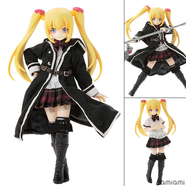 1/12 Luluna / Black Raven -The gale of the scythe. The Beginning of the End- Misty Gold Complete Doll(Pre-order)