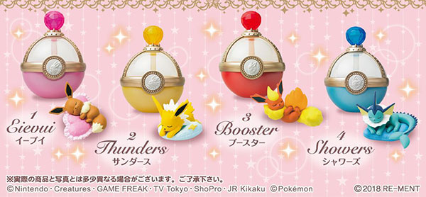 Pokemon - Eevee & Friends Dreaming Case 4Pack BOX (CANDY TOY)(Pre-order)