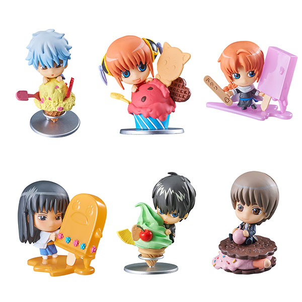 Petit Chara Land - Gintama Gin-san no Ice Cream-yasan Fruit Paradise 6Pack BOX(Pre-order)