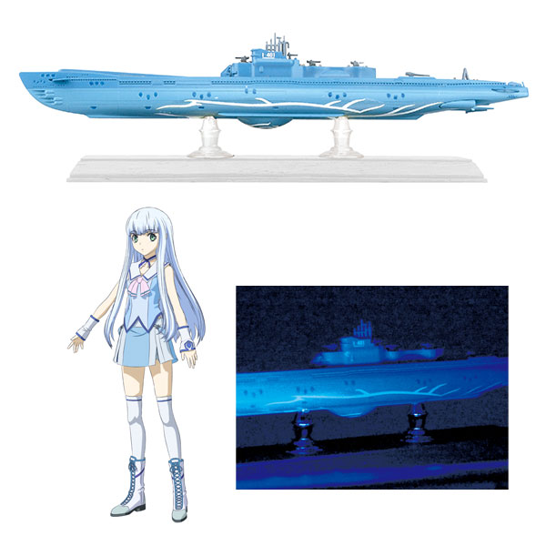 (Pre-order) Ars Nova No.11 1/700 Arpeggio of Blue Steel: Ars Nova DC Submarine I-401 Plastic Model
