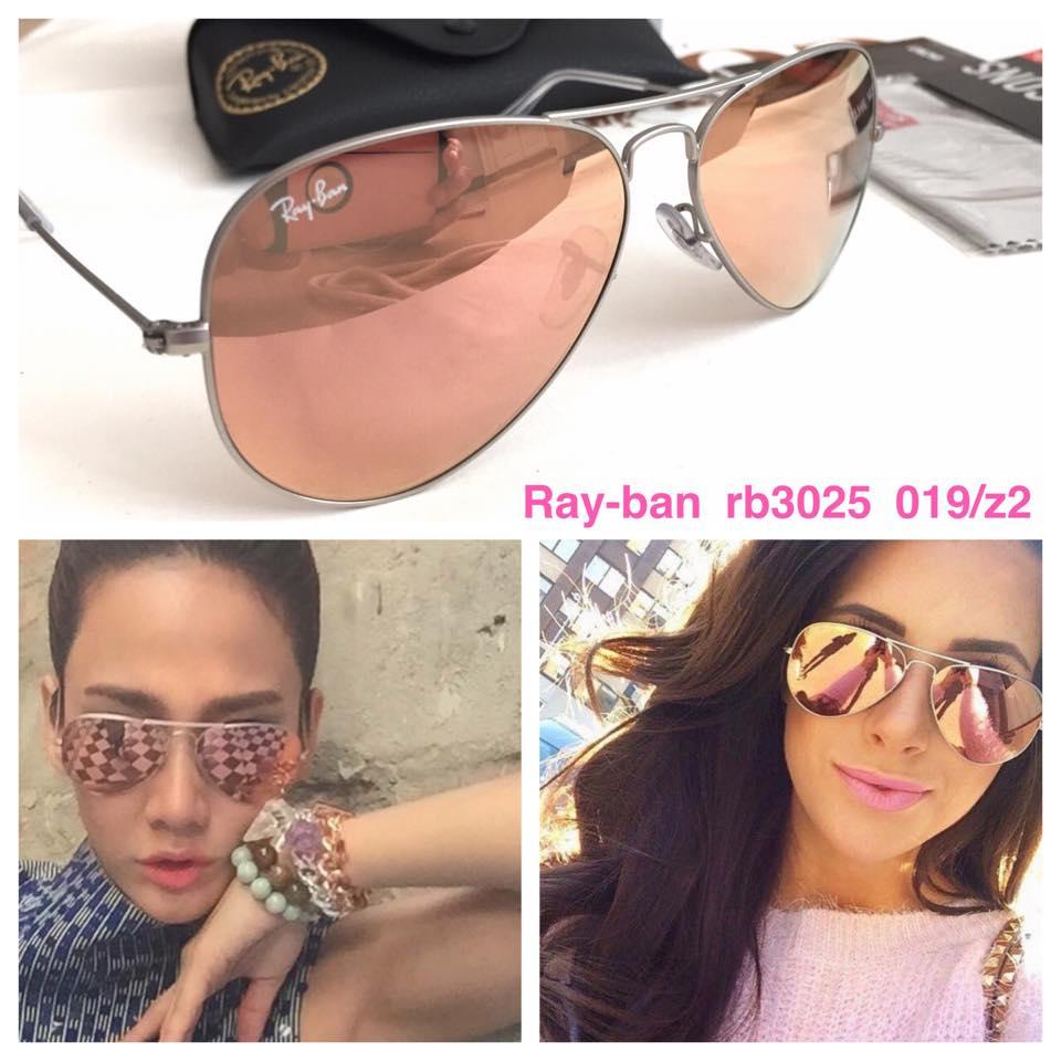 แว่นกันแดด,แว่น rayban,ray ban,aviator,rayban แท้,rb3025 019/z2,ปรอทชมพู -  BRANDUSSHOP ขายแว่นกันแดด Rayban แท้ จากอเมริกาและ Luxottica Thailand ...