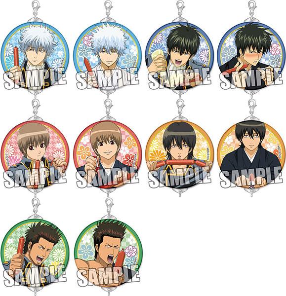 Gintama - Trading Tsunagaru Can Badge Charm 10Pack BOX(Pre-order)