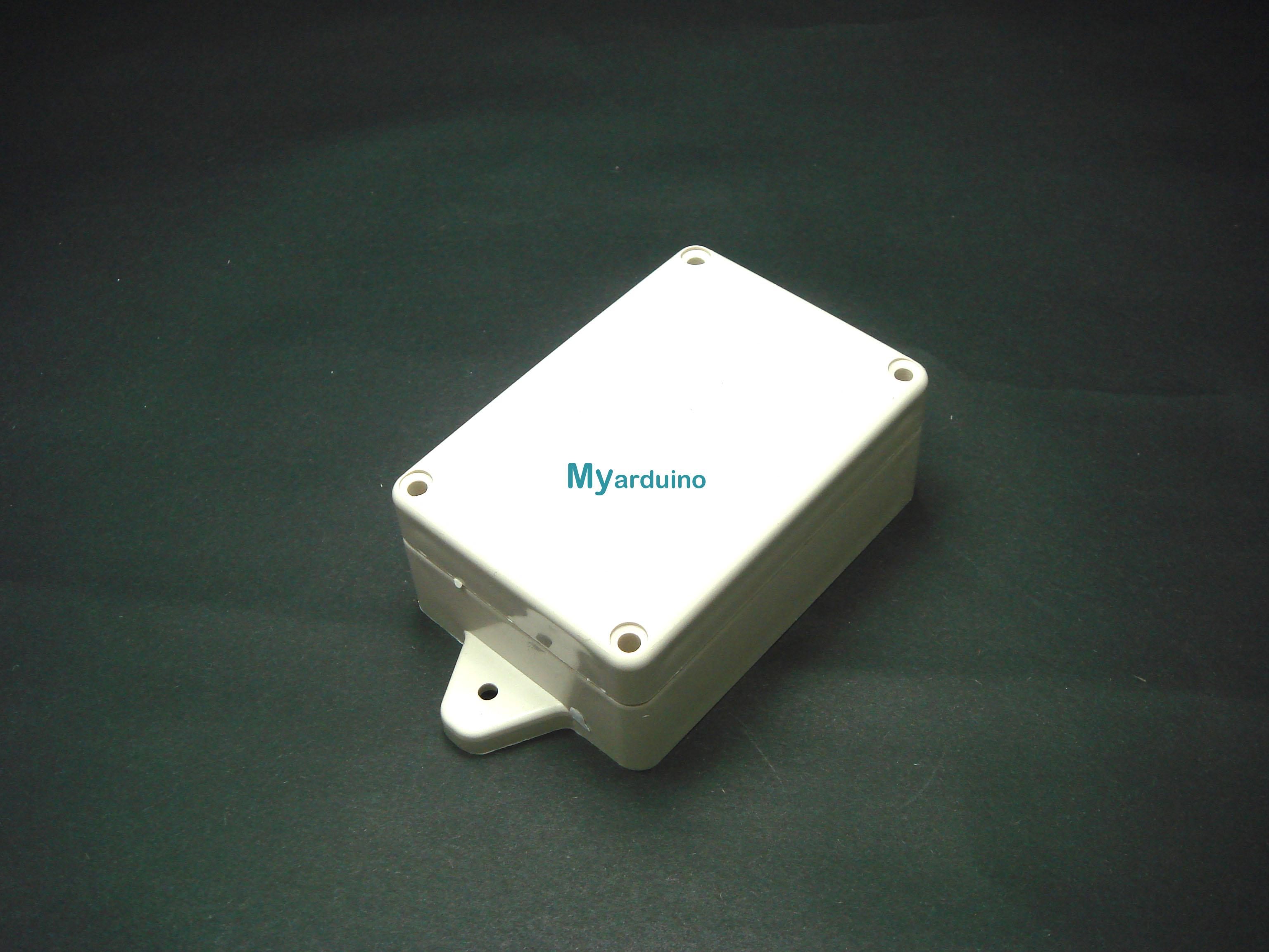 กล่องอิเล็กทรอนิกส์ อเนกประสงค์ กันน้ำ สีเทา 85*58*33mm