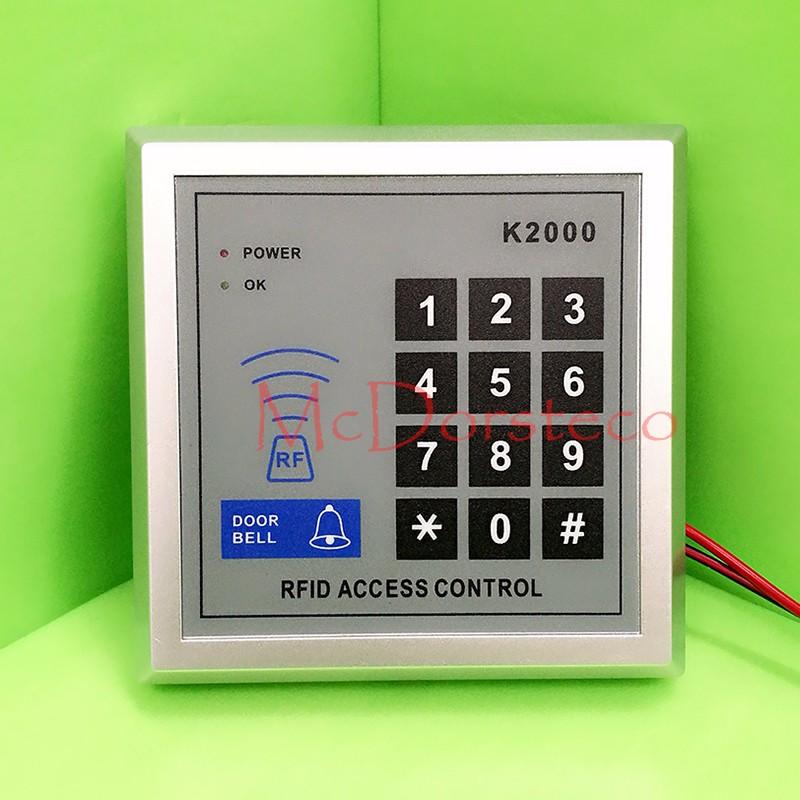เครื่องทาบบัตร ประตูคีย์การ์ด K2000