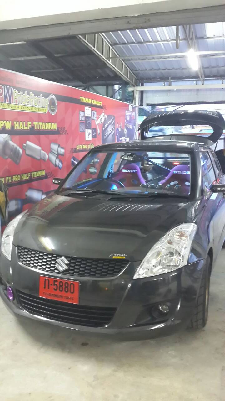 Suzuki Swift ทำ Header