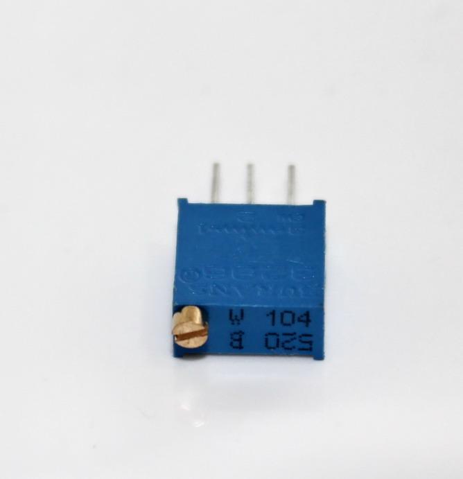 ตัวต้านทานปรับค่าได้ 100K แบบละเอียดหมุน 25 รอบ Trimpot 100 K 25 Turns 3296 Series Potentiometer Valiable Resistor