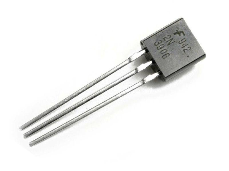 ทรานซิสเตอร์ 2N3906 PNP Transistor จำนวน 5 ตัว