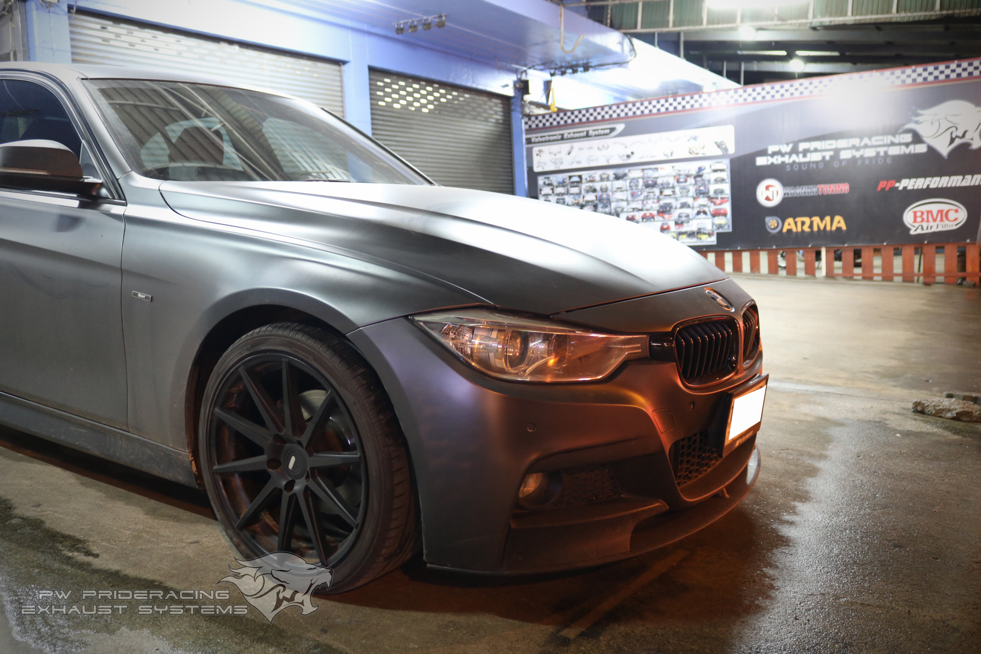 ชุดท่อไอเสีย BMW 320D F30