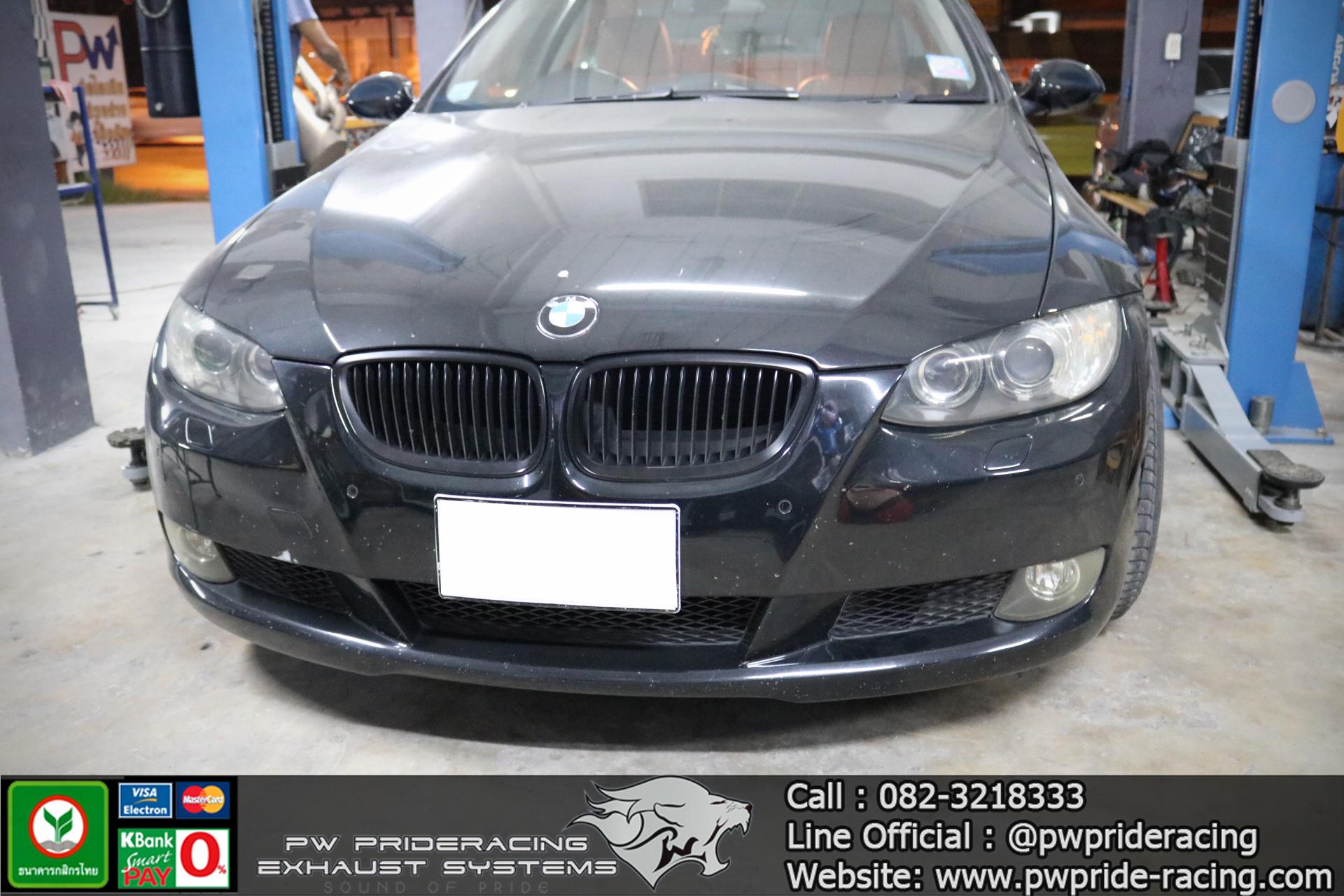 ชุดท่อไอเสีย BMW E92 325i by PW PrideRacing