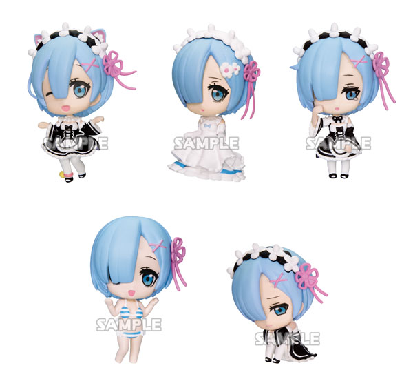 Re:ZERO -Starting Life in Another World- Rem ga Ippai Collection Figure vol.2 6Pack BOX(Pre-order)