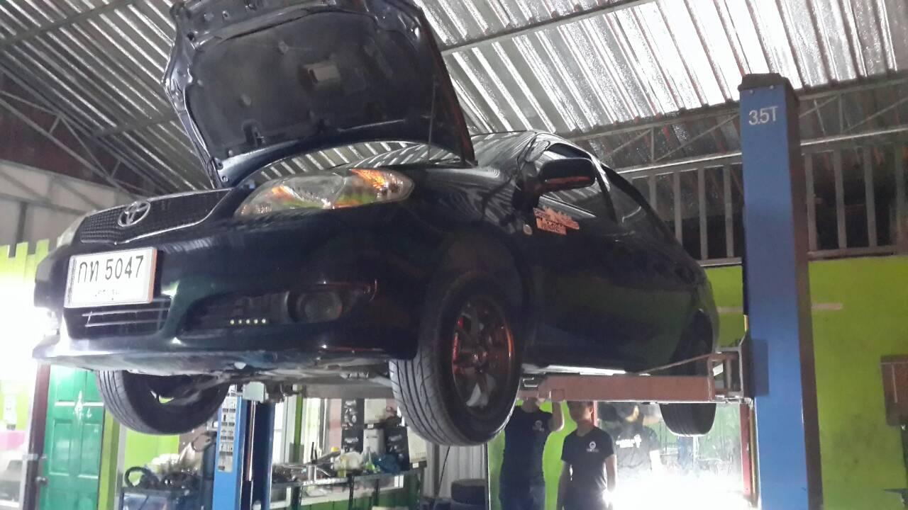 Toyota Vios (โฉมเก่า) ใส่ชุดท่อ Js fx-pro