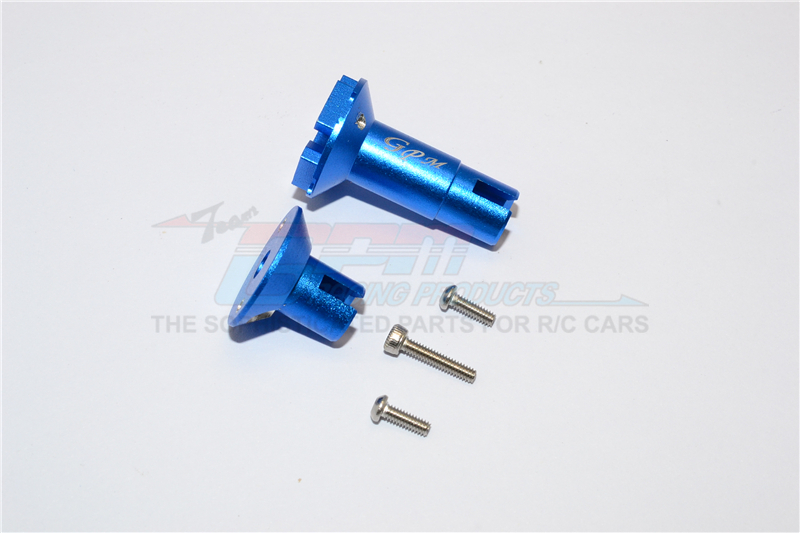 ALUMINUM DIFFERENTIAL OUTPUTS FOR REAR GEAR BOX - 5PC SET