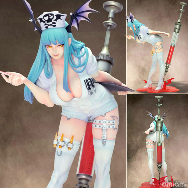 Capcom Figure Builder Creator's Model - Darkstalkers Morrigan Aensland (Nurse Ver.) Complete Figure(Pre-order)