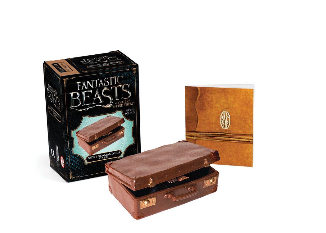 Fantastic Beasts Newt Scamander's Case With Sound