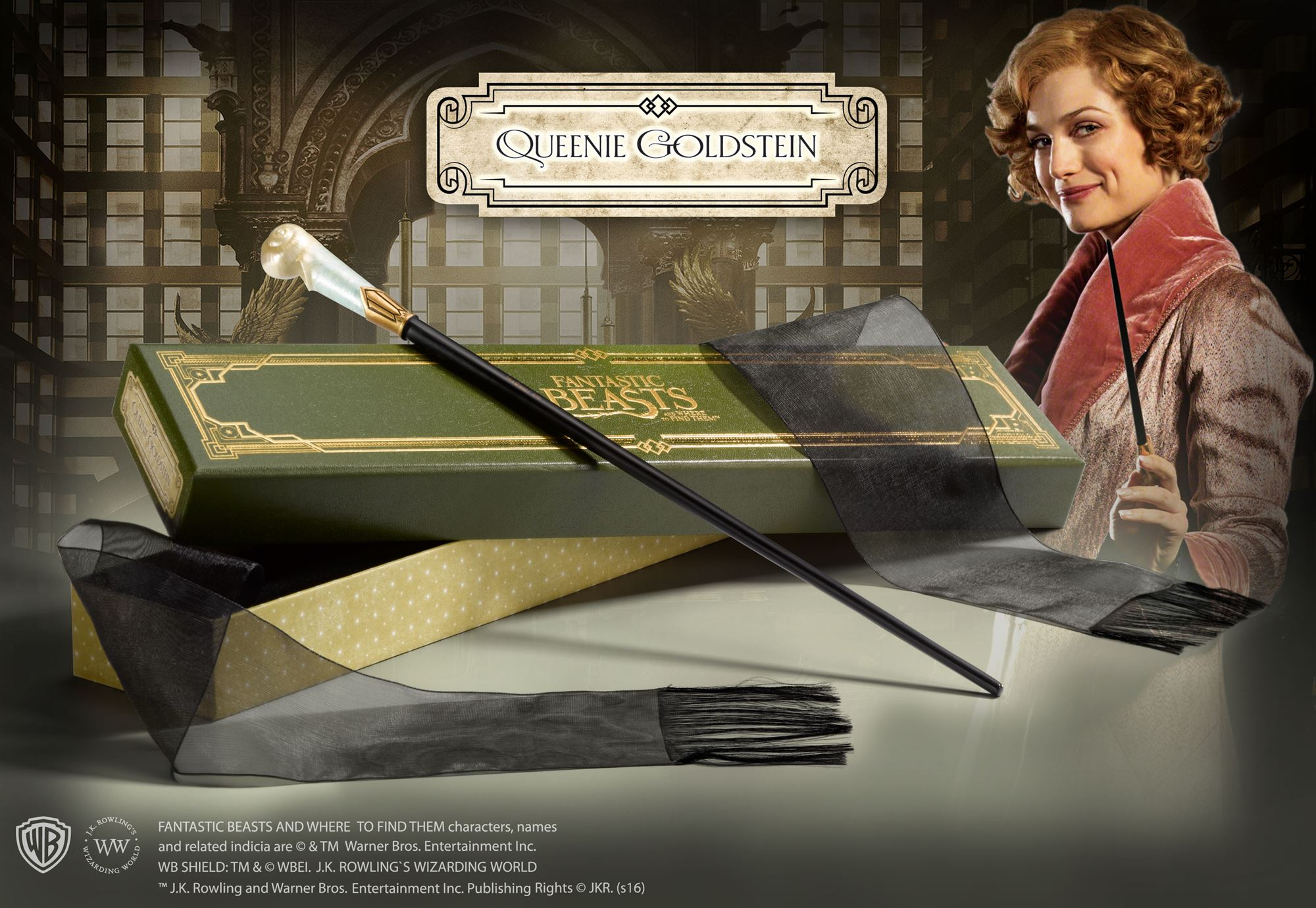 Queenie Goldstein Wand Collector's Box