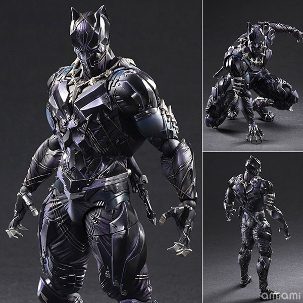 Variant Play Arts Kai - MARVEL UNIVERSE: Black Panther(Pre-order)