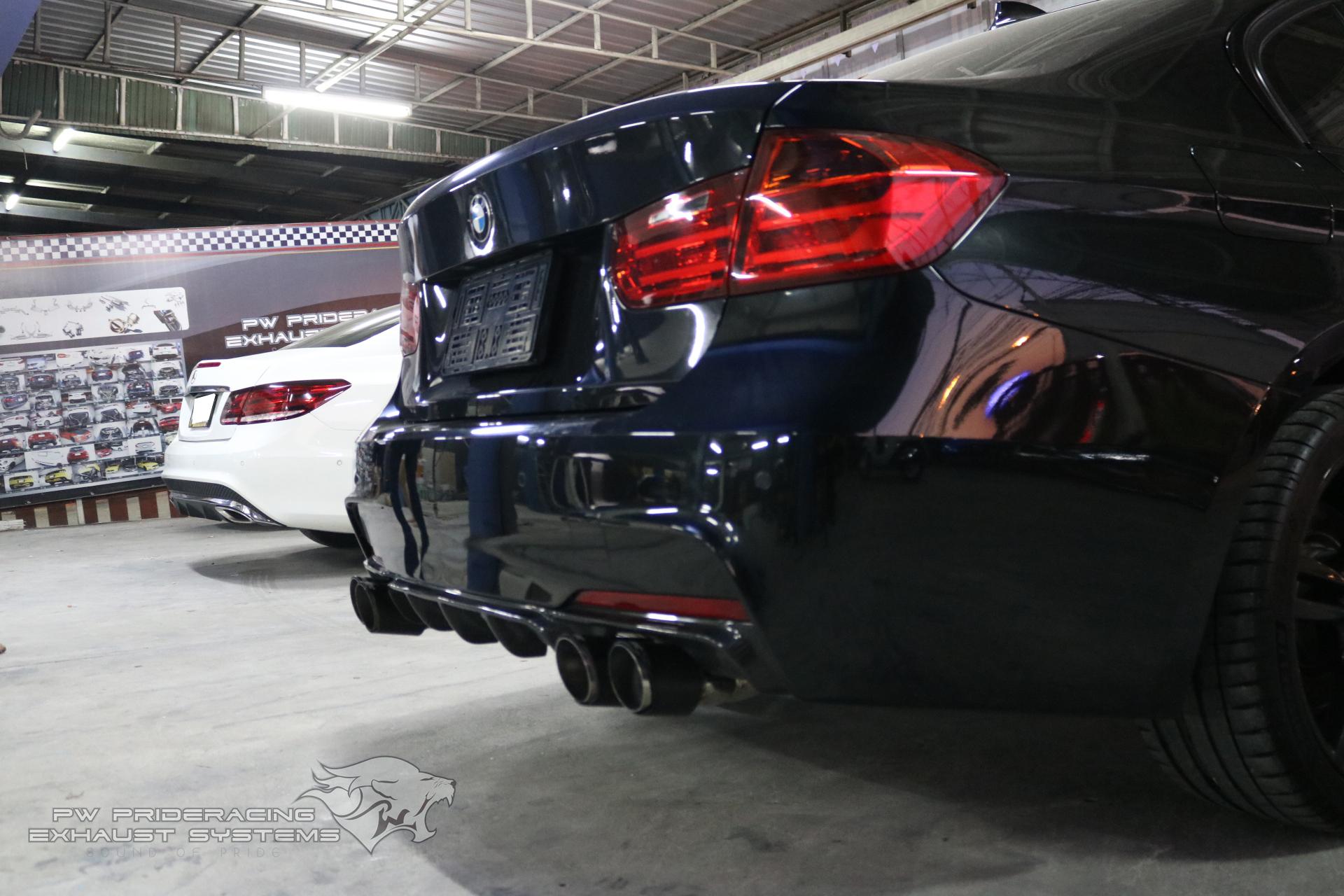 ชุดท่อไอเสีย BMW F30 320D Lci