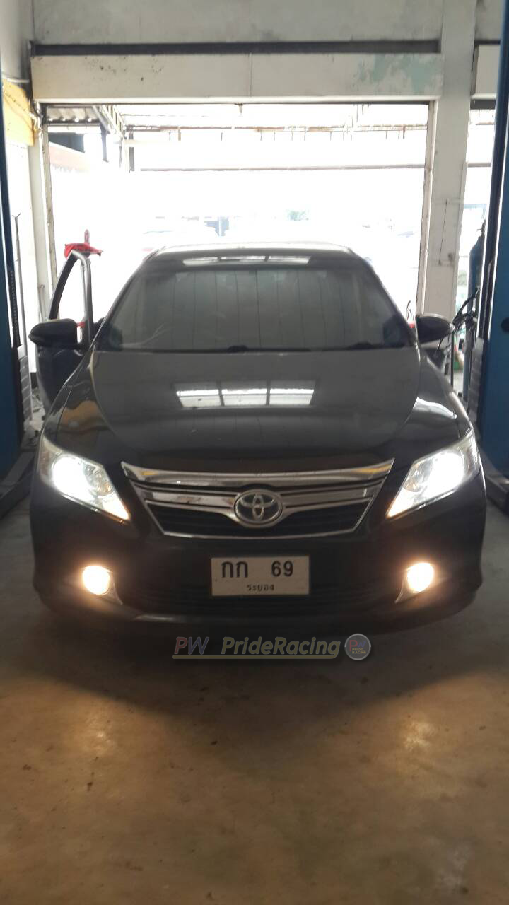 ท่อคู่ Toyota Camry Extremo Custom-made by PW PrideRacing