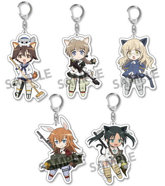 Pic-Lil! Strike Witches Operation Victory Arrow - Trading Acrylic Keychain vol.1 6Pack BOX(Pre-order)