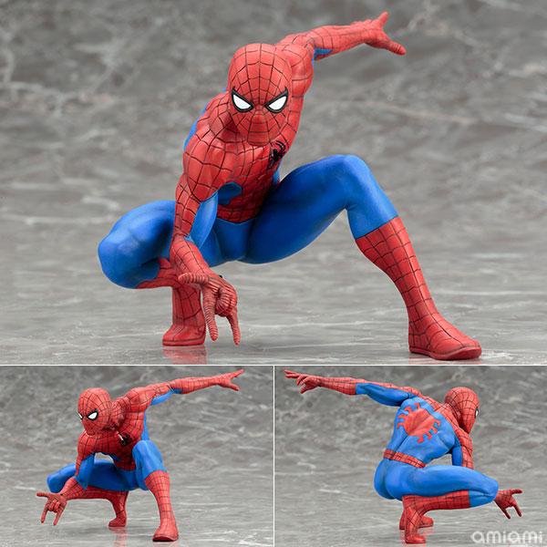 ARTFX+ - The Amazing Spider-Man MARVEL NOW! 1/10 Easy Assembly Kit(Pre-order)