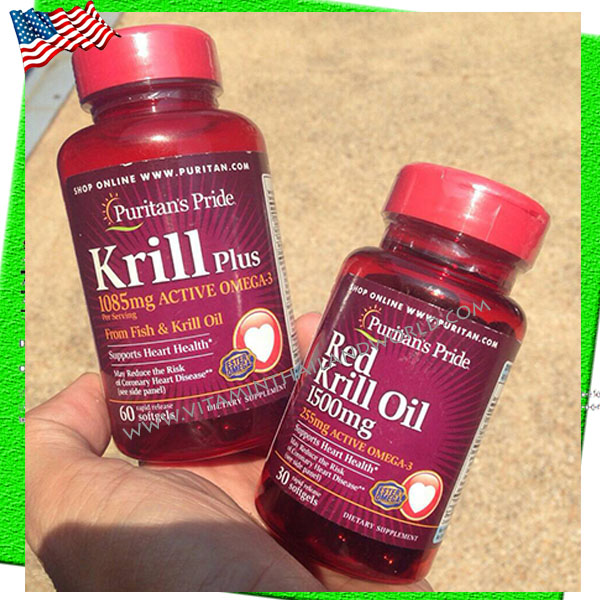 Red Krill Oil ลดไขมัน บำรุงสมอง-หลอดเลือด
