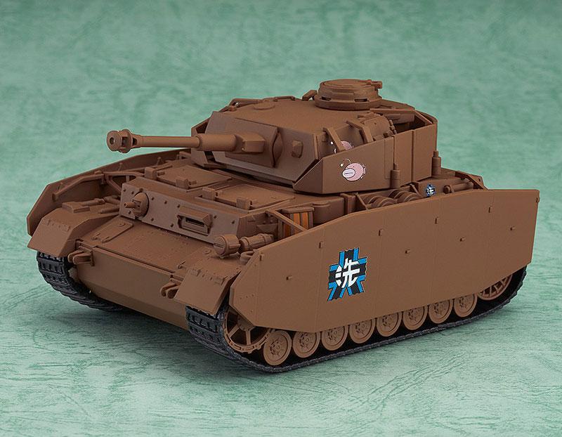 Nendoroid More - Girls und Panzer: Panzer IV Ausf. D (H-Model)(Pre-order)