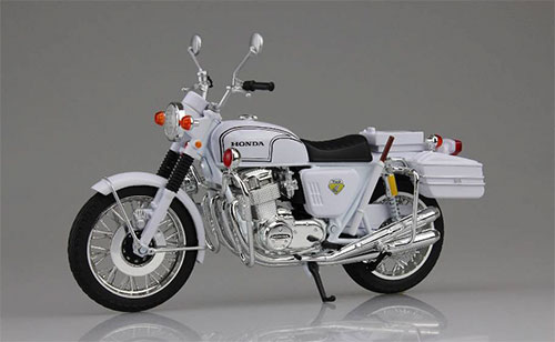 1/12 Complete Motorcycle Model Kawasaki 750RS-P (Z2 Shiro-bai)(Back-order)